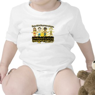 Every Child Deserves A Future Childhood Cancer shirt