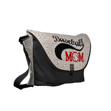 Everyday Baseball Mom Sporty Courier Bag