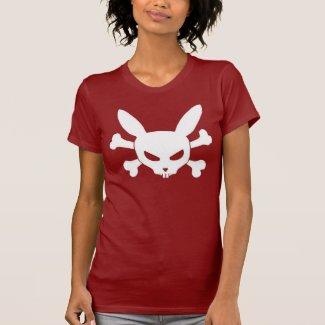 Evil Skull Bunny Tee Shirt