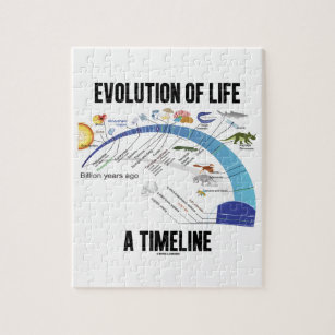 diagram of evolution timeline 2004 jeep grand cherokee limited wiring gifts on zazzle life a biology jigsaw puzzle