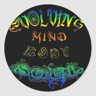 Evolving Mind Body Soul - Sticker sticker
