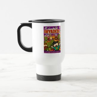 Exclusive Invaded! travel mug mug