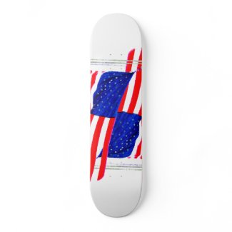 Extreme Designs Skateboard Deck USA CricketDiane