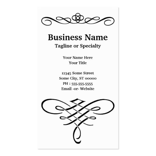 eye test business card templates