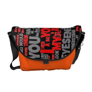 Eyes Of My Enemy (forgiveness) Messenger Bag