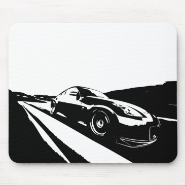 Fairlady 350Z Black Mouse Pad