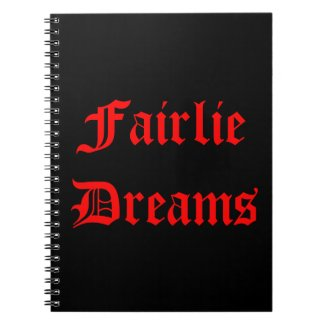 Fairlie Dreams Notebook