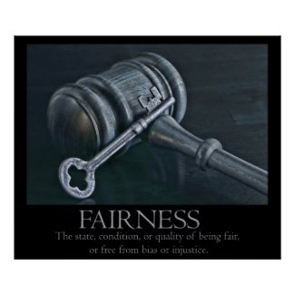 Fairness Poster print