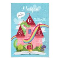 Fairy Tale Castle Princess Birthday Party Invite