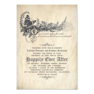 A Wedding Invitation For Fairytale