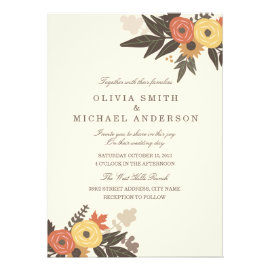 The Foliage Invitation Suite Features An Engraved Z Fold Card With A Debossed Cuff To