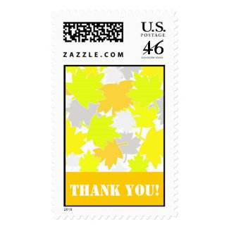 Fall Thank You! - Postage