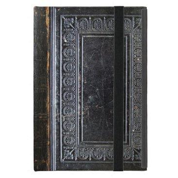 Falln Black Antique Book Cover For iPad Mini