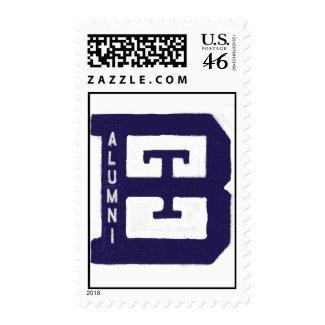 Family Alumni Postage Stamp