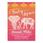 Family Baby Shower - Indian Inspiration - India Invitation