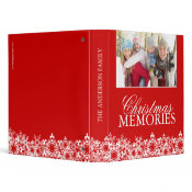 Family Christmas Photo Album binder