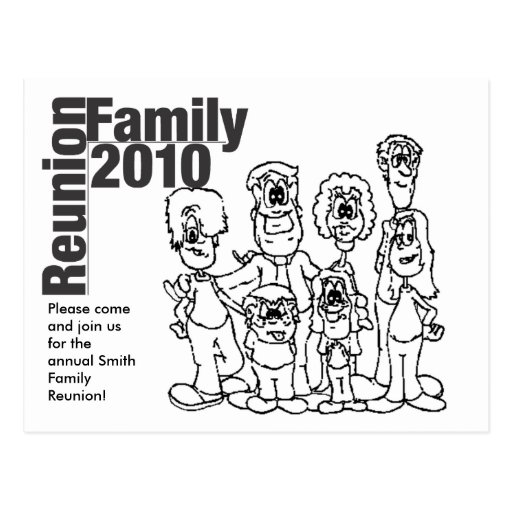 Coloring Book Family Reunion Coloring Pages