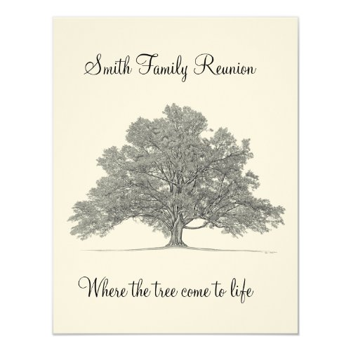 Family Reunion Card