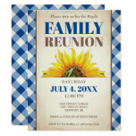 Family Reunion Invite, Sunflower, Family Picnic Invitation