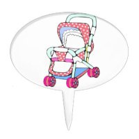 Stroller Cake Toppers | Zazzle