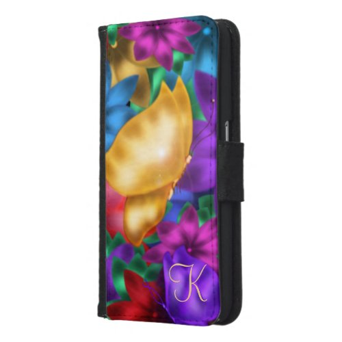 Fantasy Butterfly Personalized Samsung Galaxy S6 Wallet Case
