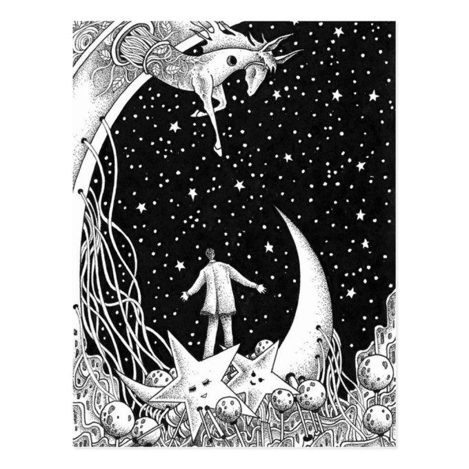 Fantasy starry sky