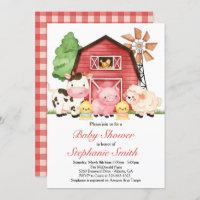 farm invitations zazzle