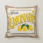 Farm Fresh Country Lemonade Throw Pillow