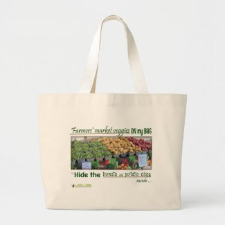Farmers' Market (Junk Food) Shopping Bag