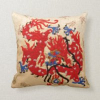 Beautiful Gold Satin Throw Pillows