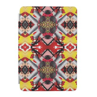 Fashion Girl Collage iPad Mini Cover