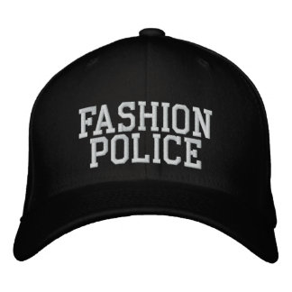 Fashion Police Hats & Fashion Police Trucker Hat Designs