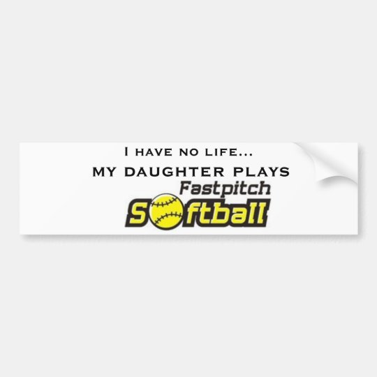 fastpitch-softball-clipart-11, I have no life..... Bumper