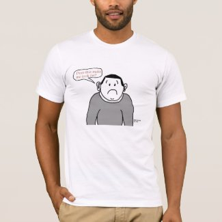 Fat - Cartoon Guy - Shirt shirt