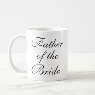 Father of the Bride Save The Date Custom Mug