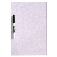 Faux Purple Glitter Dry-Erase Whiteboard