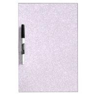 Faux Purple Glitter Dry-Erase Whiteboard
