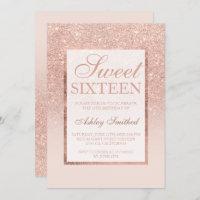 elegant birthday invitations zazzle