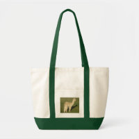 Fawn alpaca tote bag