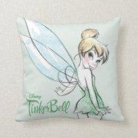 Tinkerbell Pillows - Decorative & Throw Pillows | Zazzle