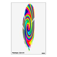 Multi Colored Wall Decals & Wall Stickers   Zazzle
