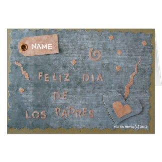 Feliz Dia de Los Padres (Personalize)