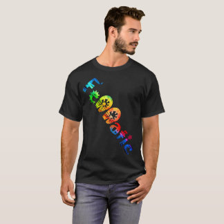 Fennatic Double Omega Rainbow Treasure Hunter Shir T-Shirt