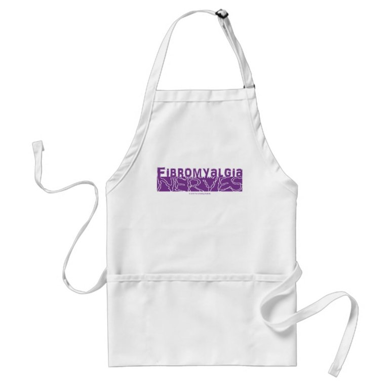 Fibromyalgia Gets on my Nerves Apron