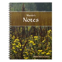 Fields of Van Gogh Notebook