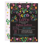 Fiesta Bridal Shower Invitation Taco bout love