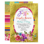 Fiesta Couple Shower Invitation Floral