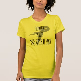 Fighter Awareness Ribbon Shirt 24/7 365