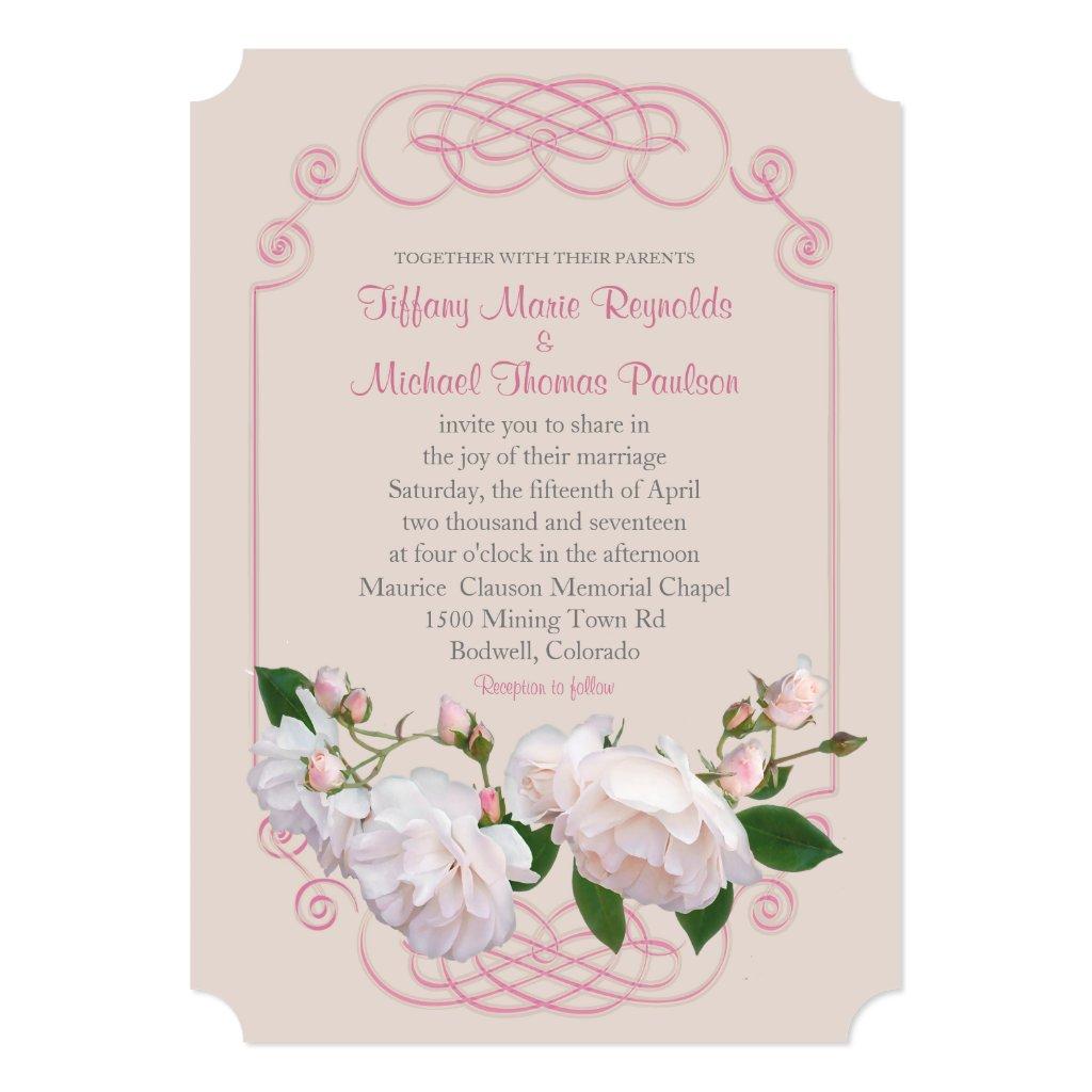 Filigree and Vine Roses