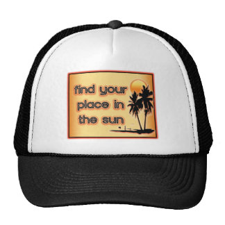 Find Your Place In The Sun Mesh Hat